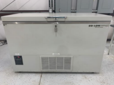 Used-SO-LOW Ultra Low Chest-Style Freezer. Model C85-14. -40 Degrees C to -85 Degrees C.14 CuFt