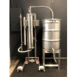 Used/Refurbished-CRCfilters Ethanol Dehydration System EDH-25. 25lb capacity 55 gal collection drum.