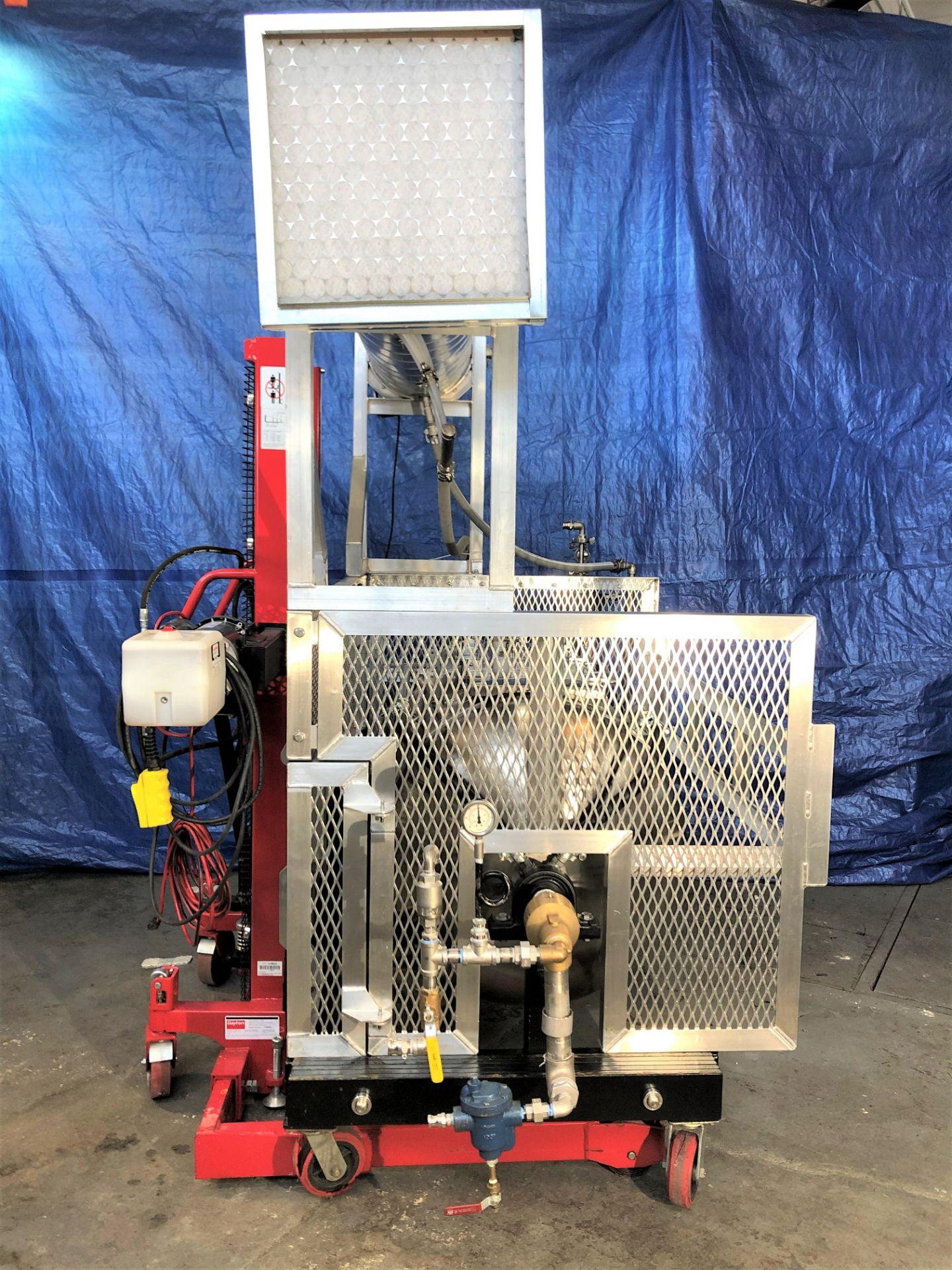 Used- Tumble Dryer w/ Molecular Sieve Column & 55 Gallon Collection Drum. Volume: 18 CuFt. - Image 5 of 11
