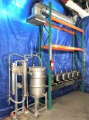Used-CRCFilters Turnkey Ethanol Evaporation/Condensing/Drying setup. Approx 5-7 gallons per hour.