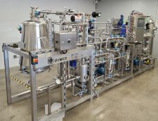 Unused- DEVEX Cannabis Crude Oil/ Ethanol Recovery /Decarboxylation Plant. Extracts 400lbs per 8hrs