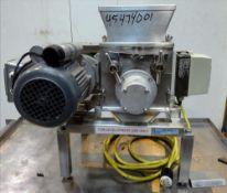Used- Frewitt Oscillating Granulator, Type GLT-001, 304 SS. Approx capacity up to 80 kg per hour