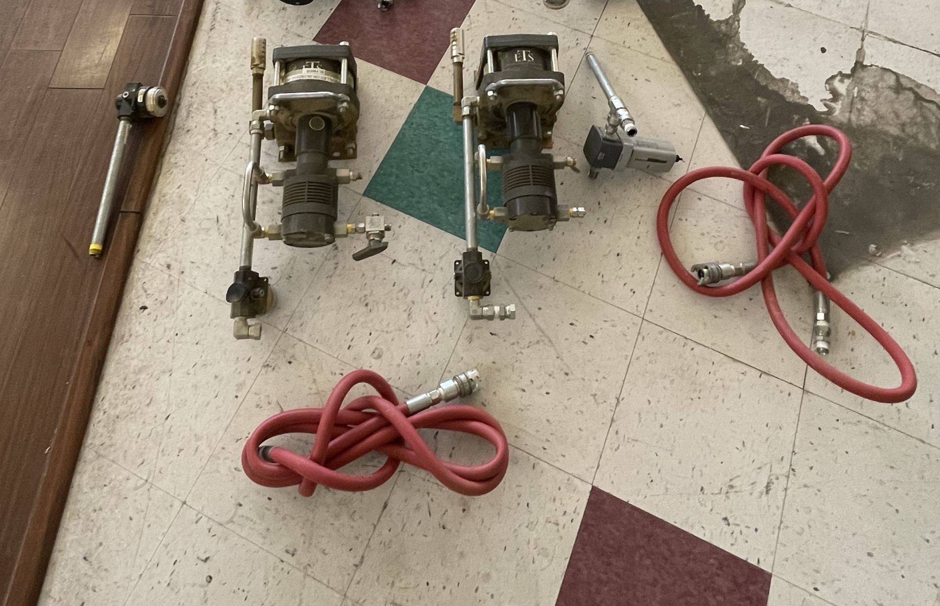 Used-Lot of (2) Haskel EXT420 Butane/Propane Extraction High Pressure Positive Displacement Pumps
