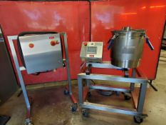 Used- Delta Separations Ethanol Extractor, Model CUP 15 Gen 1.2 w/ Control Panel