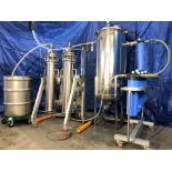 Used-Ultrasonic Ethanol Extractor, 20lb High Purity Extraction System for CBD/THC Extraction