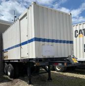 Used-York/Caterpillar Model PY-525A Containerized Mobile Chiller W/ York Rotary Screw Liquid Chiller