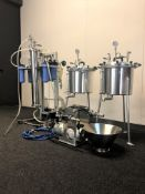 Used-CRCfilters Ethanol Extraction/Purification System. Model EP-05 w/ 20 Gal Collection Vessel