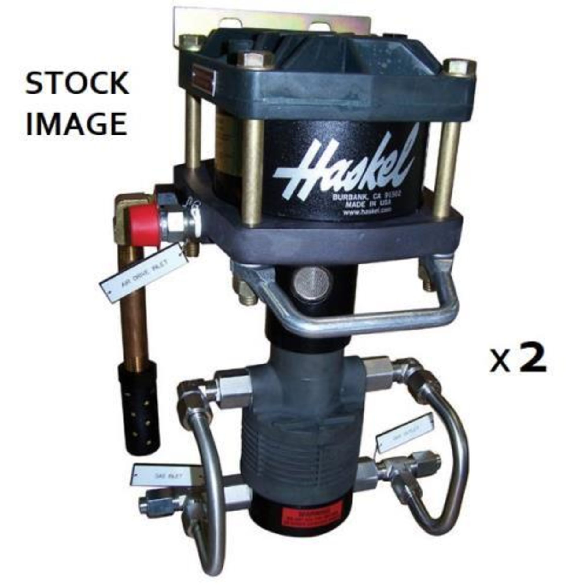 Used-Lot of (2) Haskel EXT420 Butane/Propane Extraction High Pressure Positive Displacement Pumps - Image 6 of 6