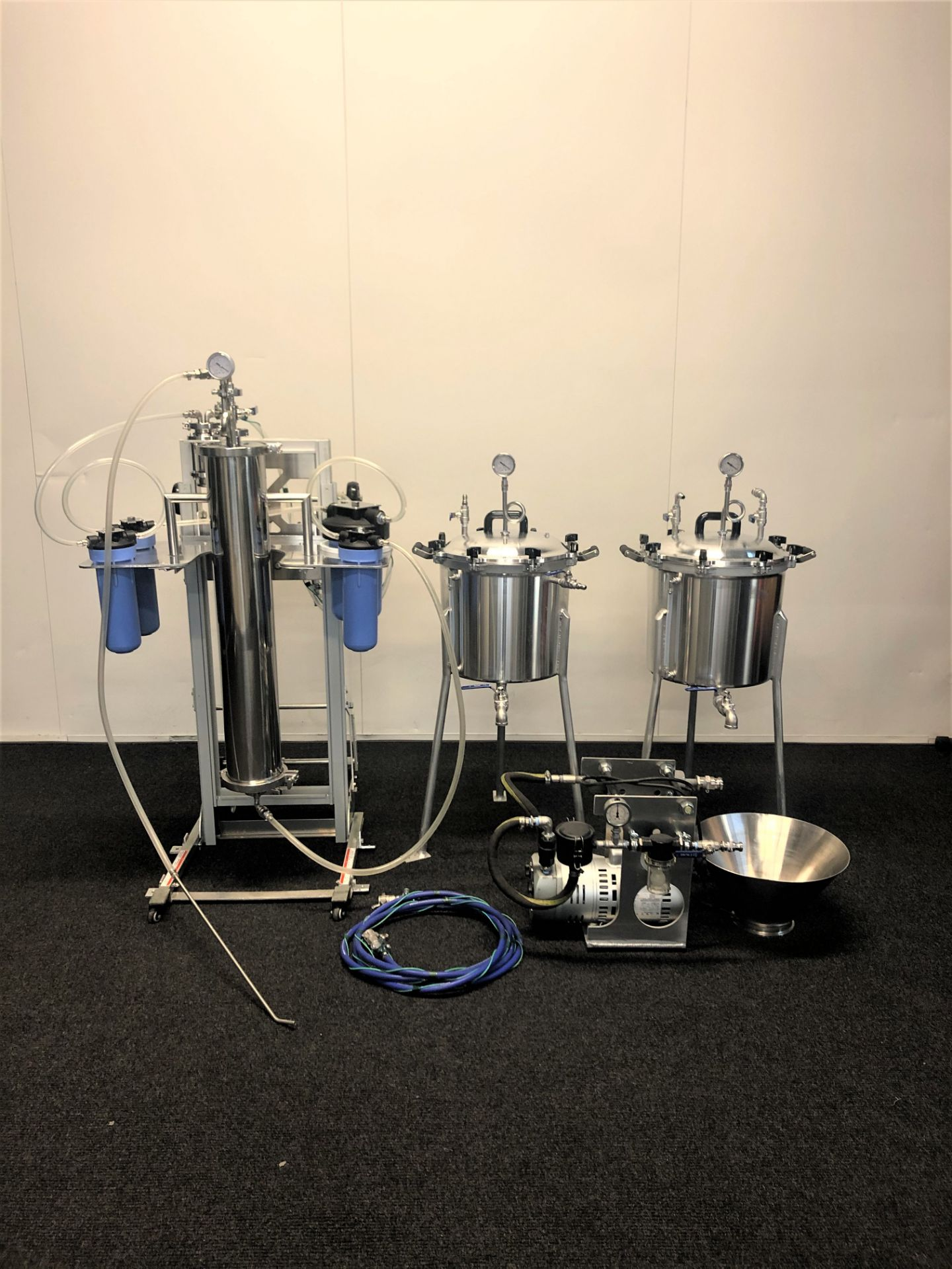 Used-CRCfilters Ethanol Extraction/Purification System. Model EP-05 w/ 20 Gal Collection Vessel - Image 2 of 6