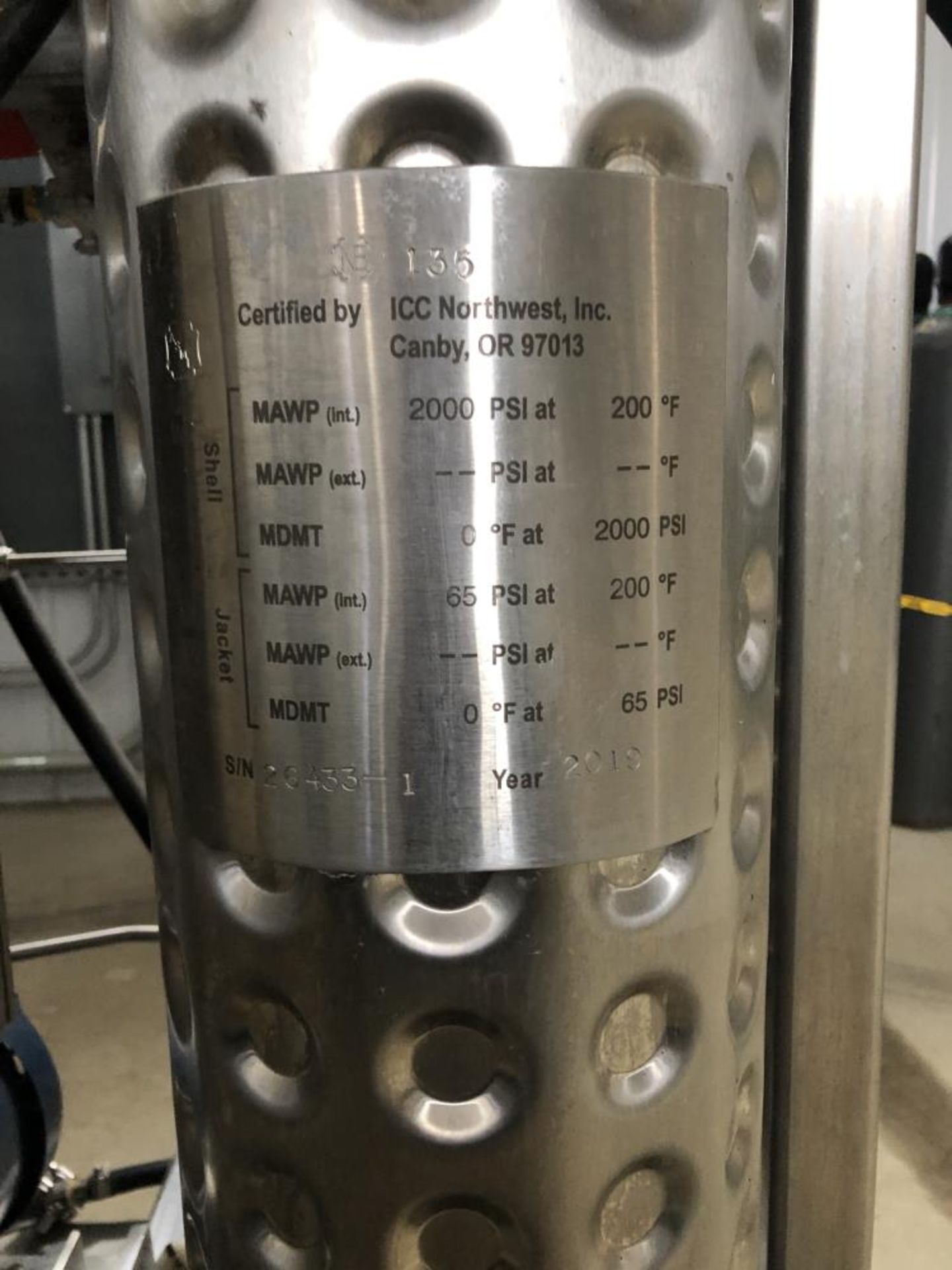 Used - MRX Supercritical CO2 Extractor Complete System. See details in description full inventory - Image 4 of 29