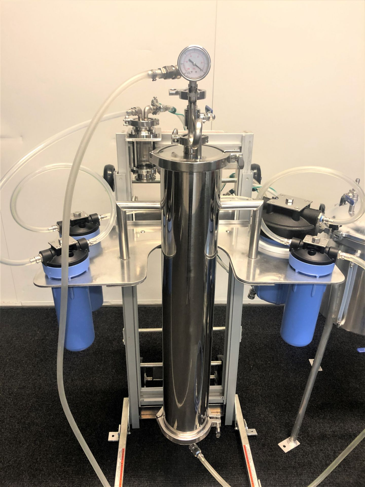 Used-CRCfilters Ethanol Extraction/Purification System. Model EP-05 w/ 20 Gal Collection Vessel - Image 3 of 6