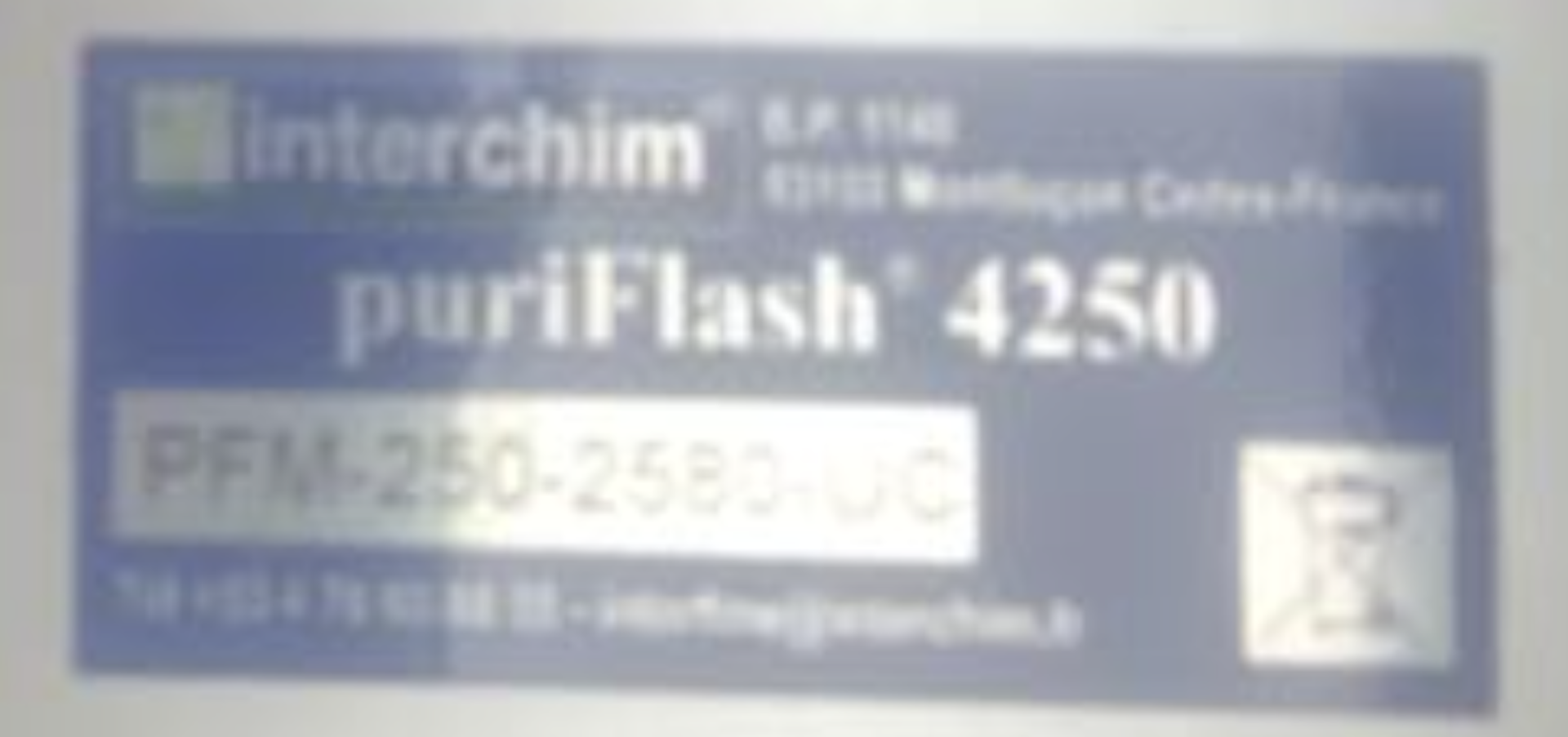 Used- Interchim Purification Prep HPLC, Model PuriFlash 4250. Flash and Prep HPLC in one instrument - Image 6 of 8