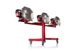 UNUSED - Centurion Pro HP3 Bucker w/ Stand. Model HP3. 100 lbs per hour, dry/500 lbs per hour