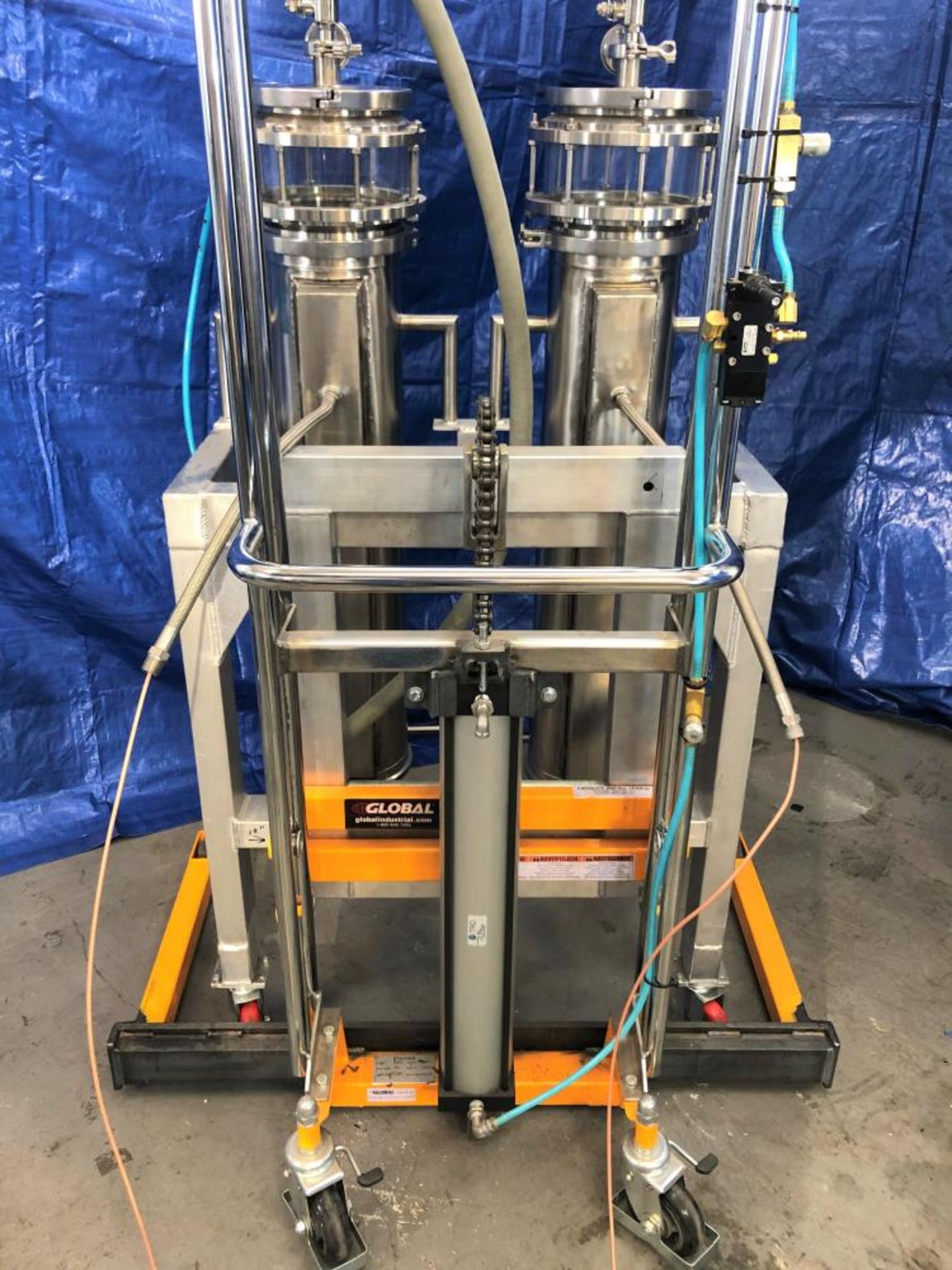 Used-Ultrasonic Ethanol Extractor, 20lb High Purity Extraction System for CBD/THC Extraction - Image 3 of 8