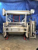 Used- Tumble Dryer w/ Molecular Sieve Column & 55 Gallon Collection Drum. Volume: 18 CuFt.