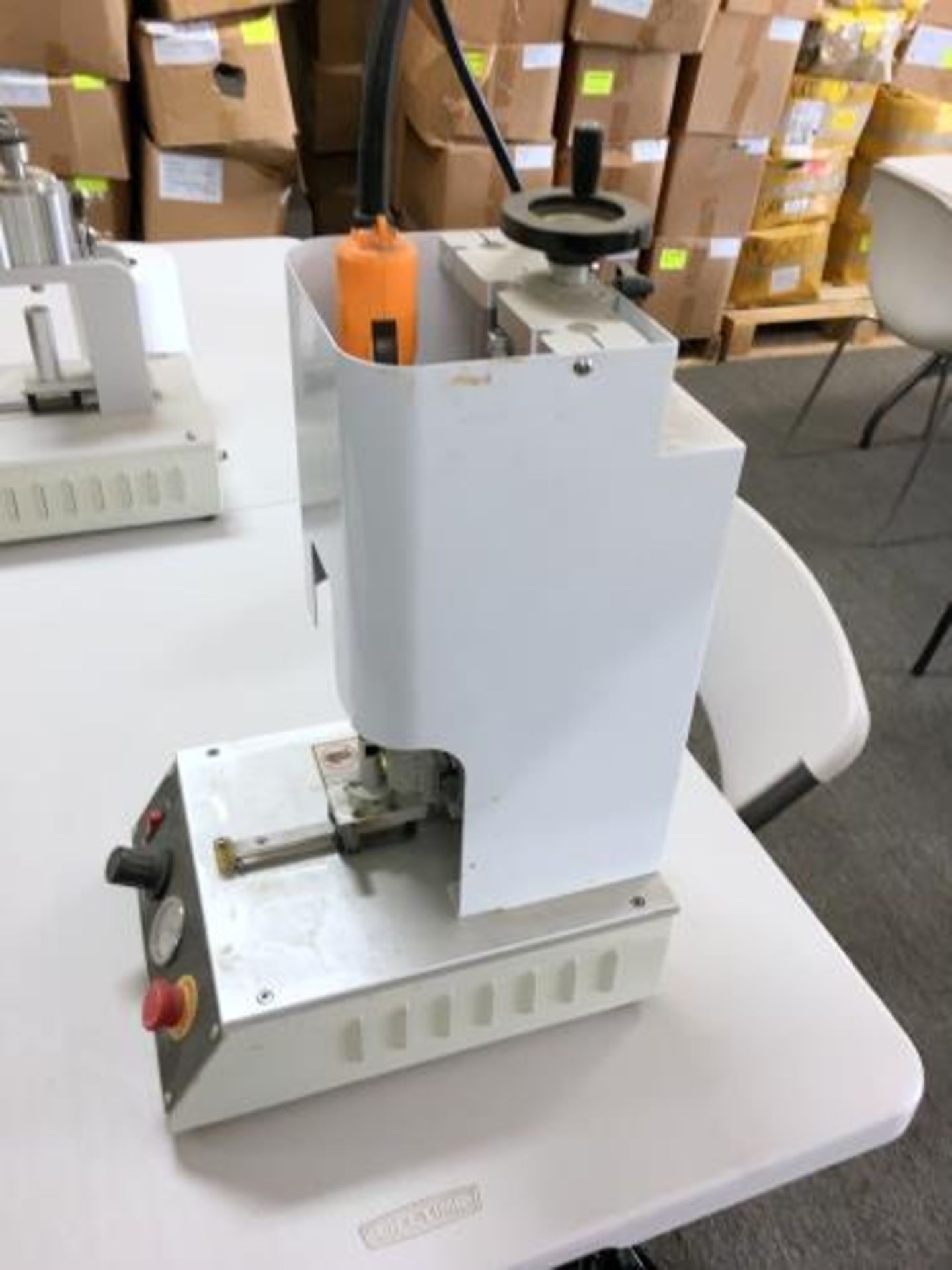Used-Lot of (2) Pnuematic Screw Capping Machines Adjustable Cartridge Size/Torque. 3K Cartridges/run - Image 4 of 4