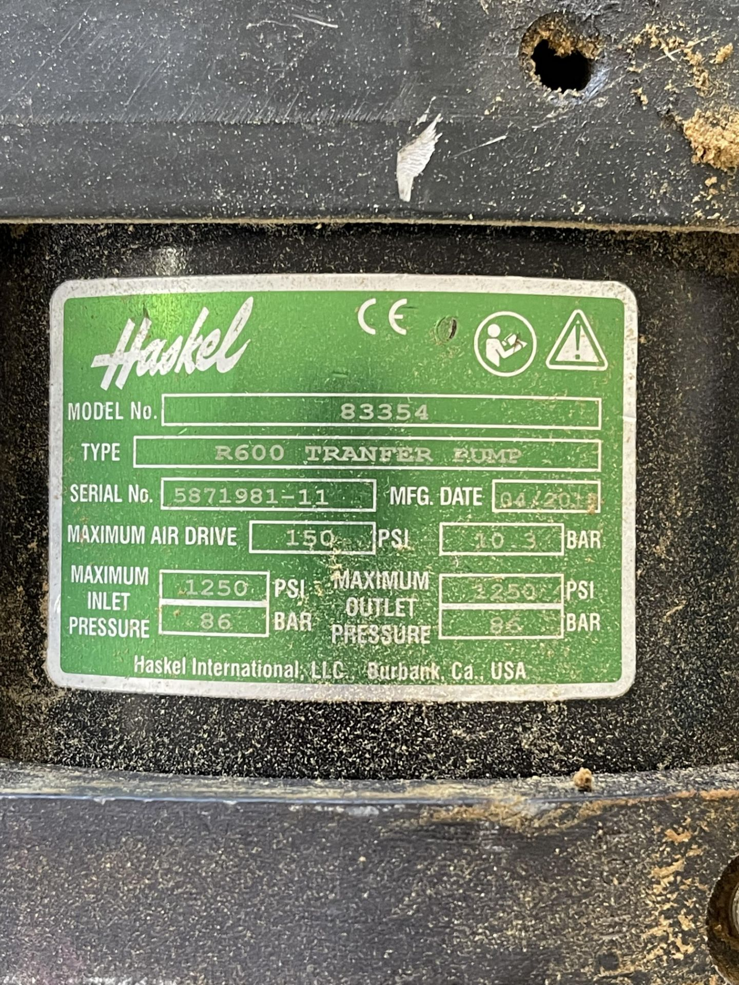 Used-Lot of (2) Haskel EXT420 Butane/Propane Extraction High Pressure Positive Displacement Pumps - Image 4 of 6