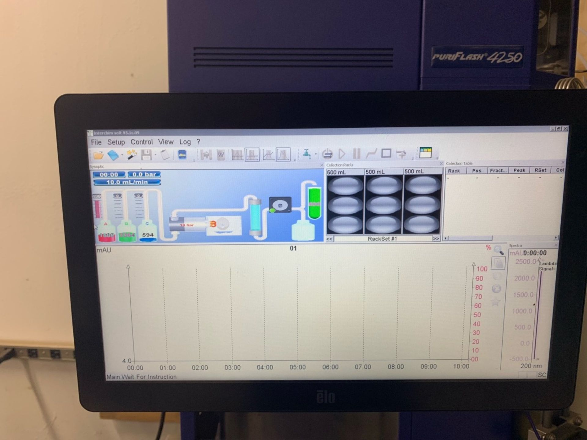 Used- Interchim Purification Prep HPLC, Model PuriFlash 4250. Flash and Prep HPLC in one instrument - Image 4 of 8