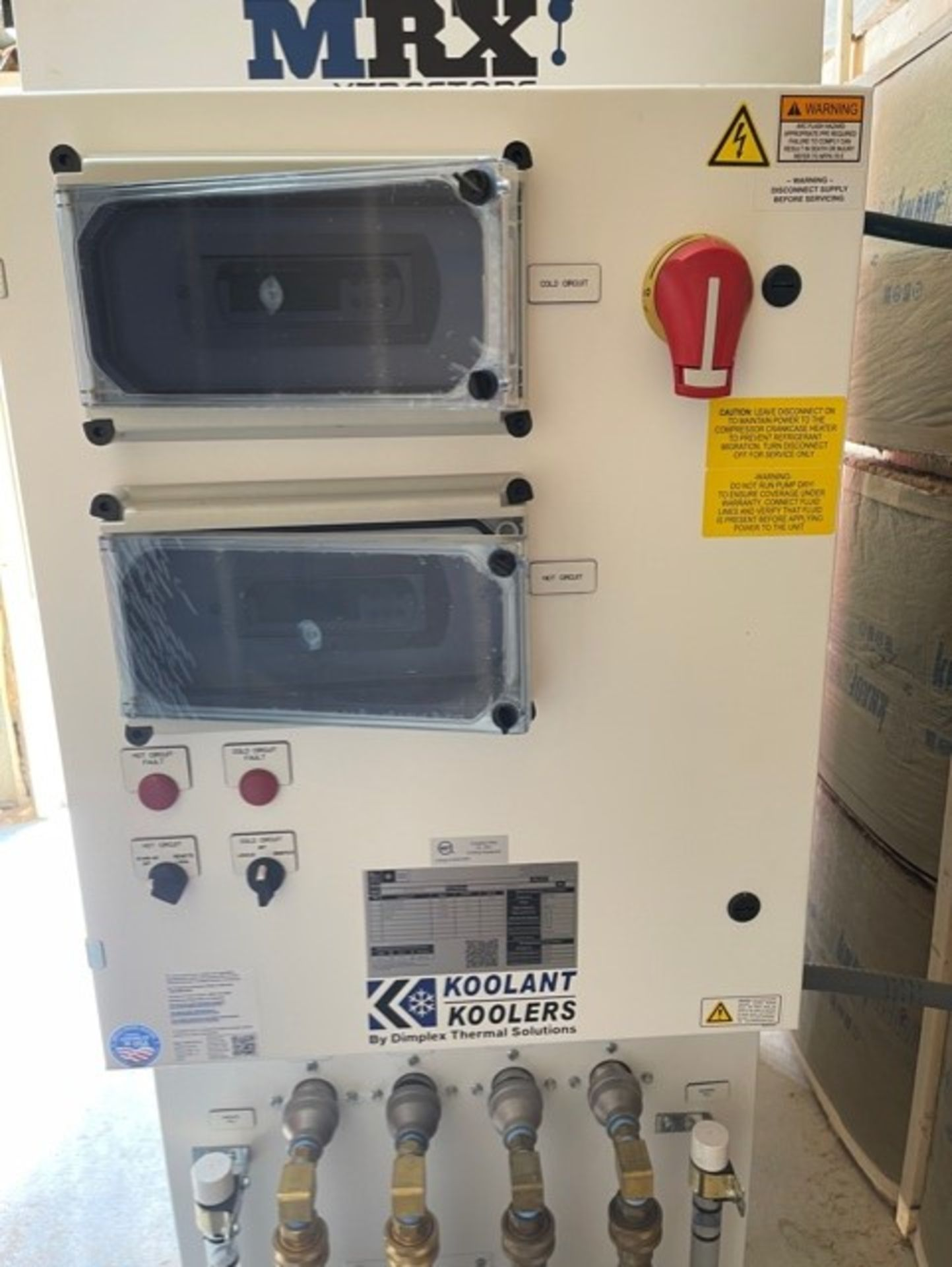 Used - MRX Supercritical CO2 Extractor Complete System. See details in description full inventory - Image 6 of 29