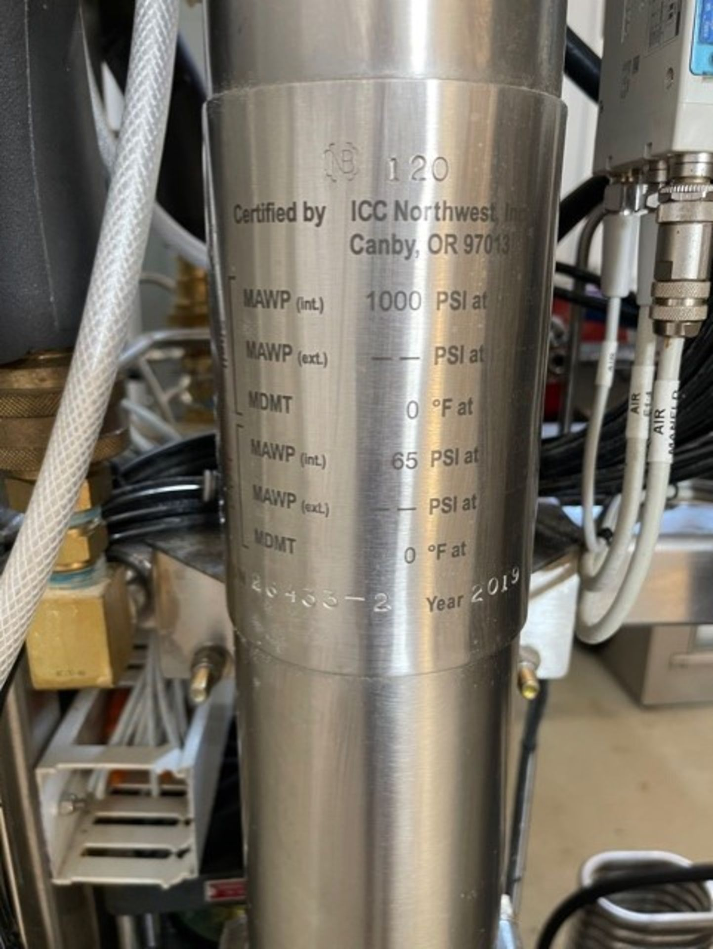 Used - MRX Supercritical CO2 Extractor Complete System. See details in description full inventory - Image 5 of 29
