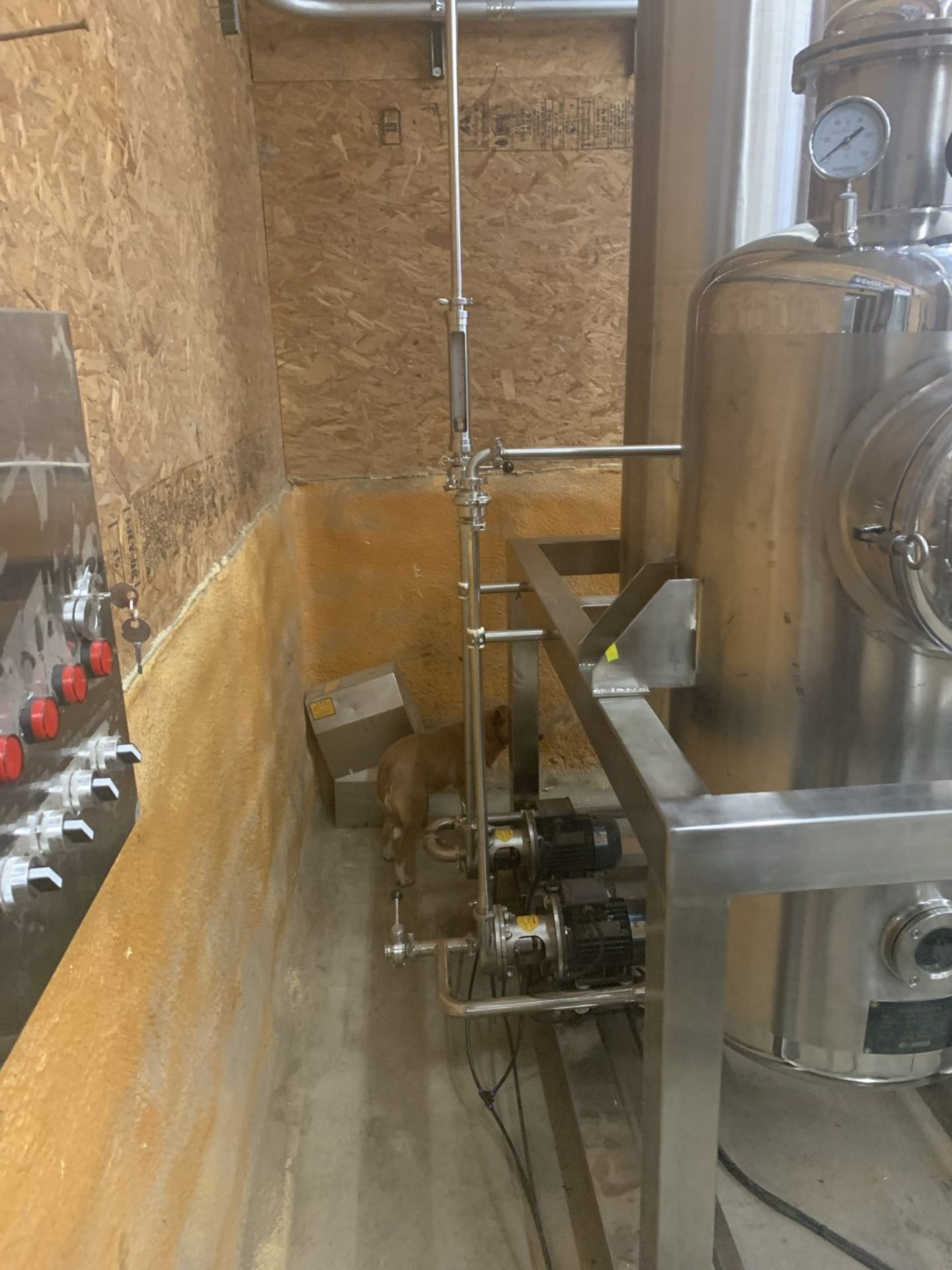 Used Henan Lanphan Industry Co. Hemp Extraction Centrifuge. Model PP-45. 20 lbs per batch - Image 2 of 3