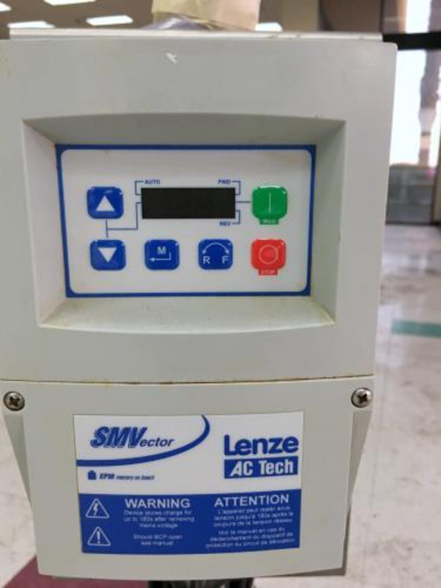 Used-Portable Centrifugal Liquid Transfer Pump. Lenze AC Tech Controller and SS 2 HP Gator Motor. - Image 4 of 7