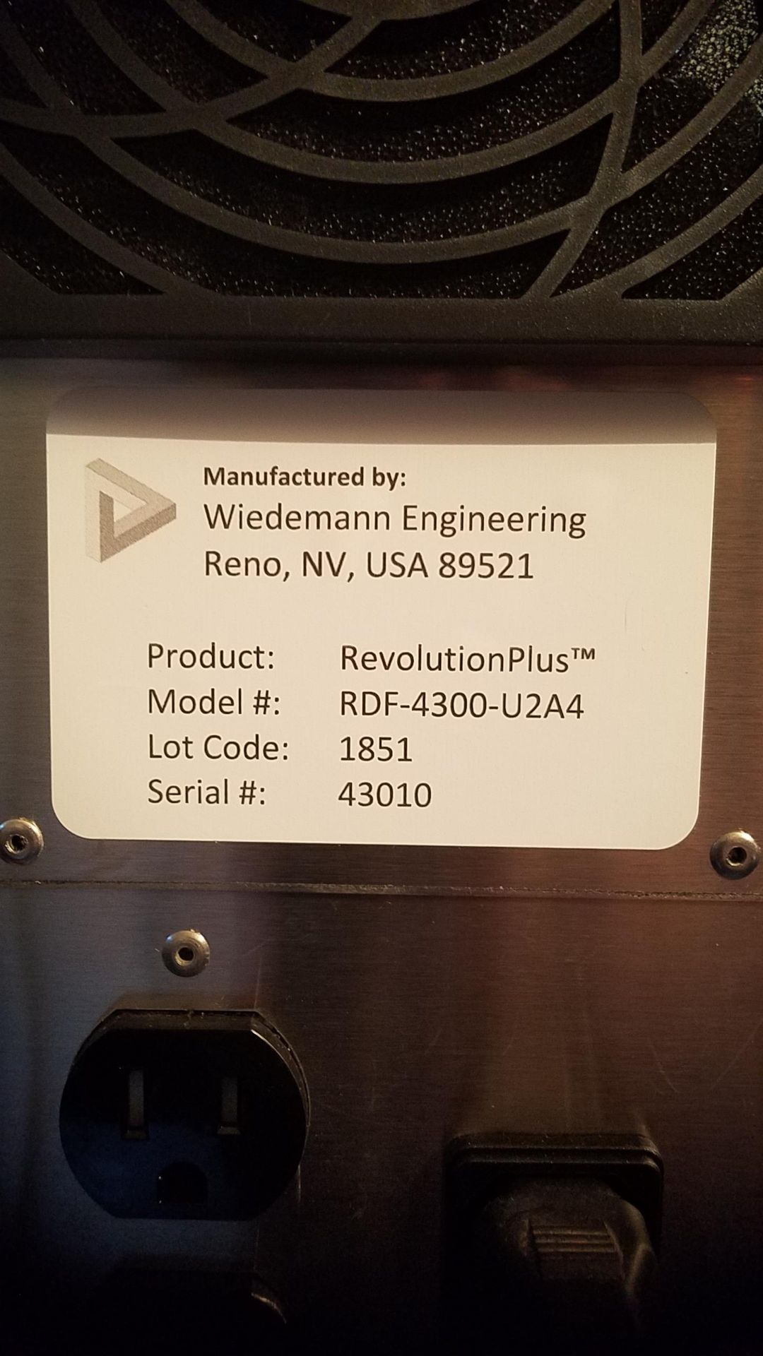 Unused/FactoryNew Revolution Cannabis & Hemp Flower Finisher System Model RDF 4300.100-200 lbs/8 hrs - Image 10 of 32