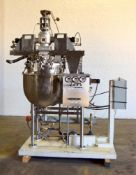 """Used- Gifford-Wood AGI-Mixer Model V/P-A Vacuum Kettle, 40 Gal, Approx 26"""" dia x approx 26"""" deep"""