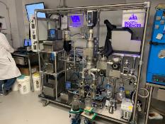 Used Root Sciences Short Path Distillation Plant. Model VKS 70-5 RS. 3k-3.5k mI/hr.