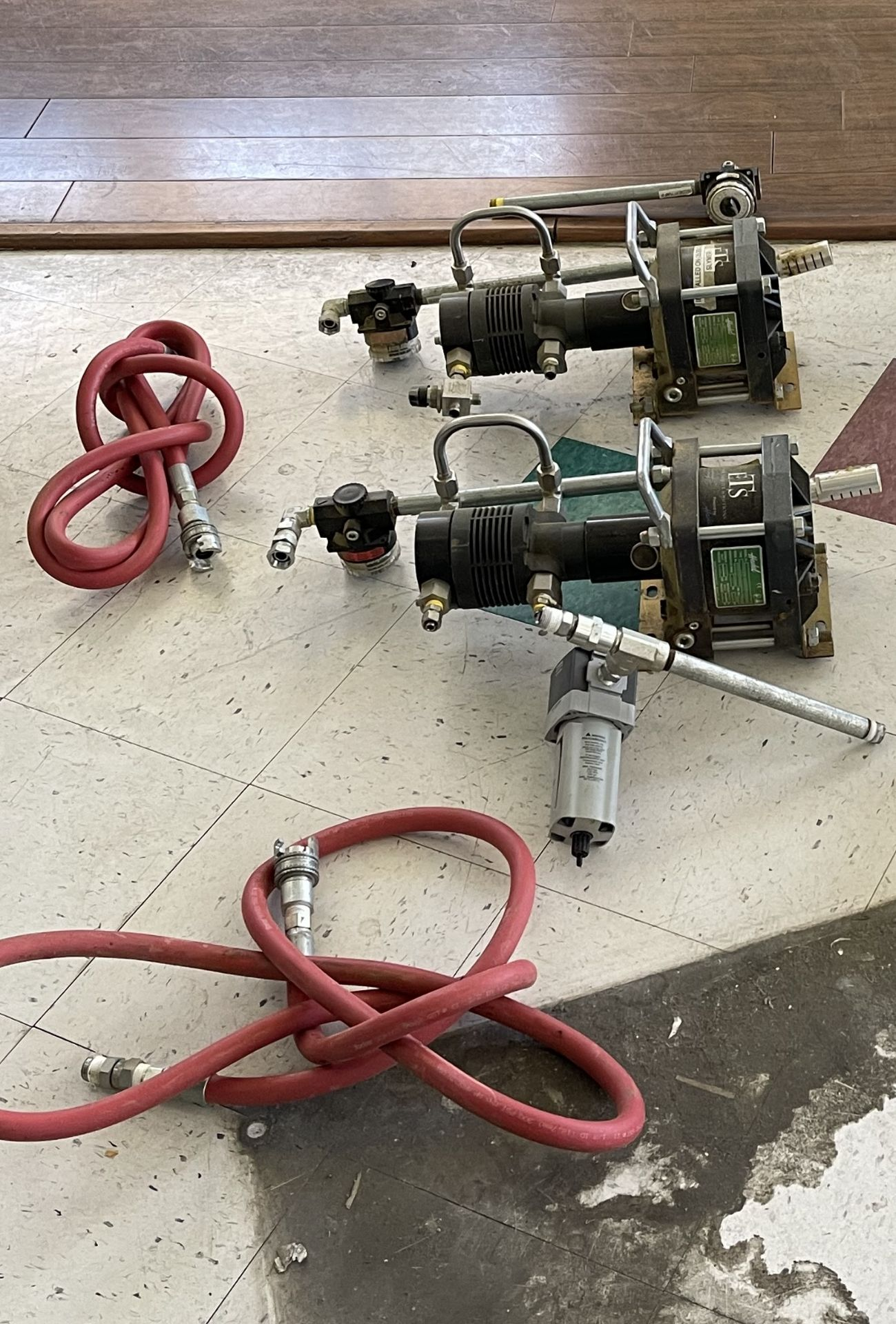Used-Lot of (2) Haskel EXT420 Butane/Propane Extraction High Pressure Positive Displacement Pumps - Image 2 of 6