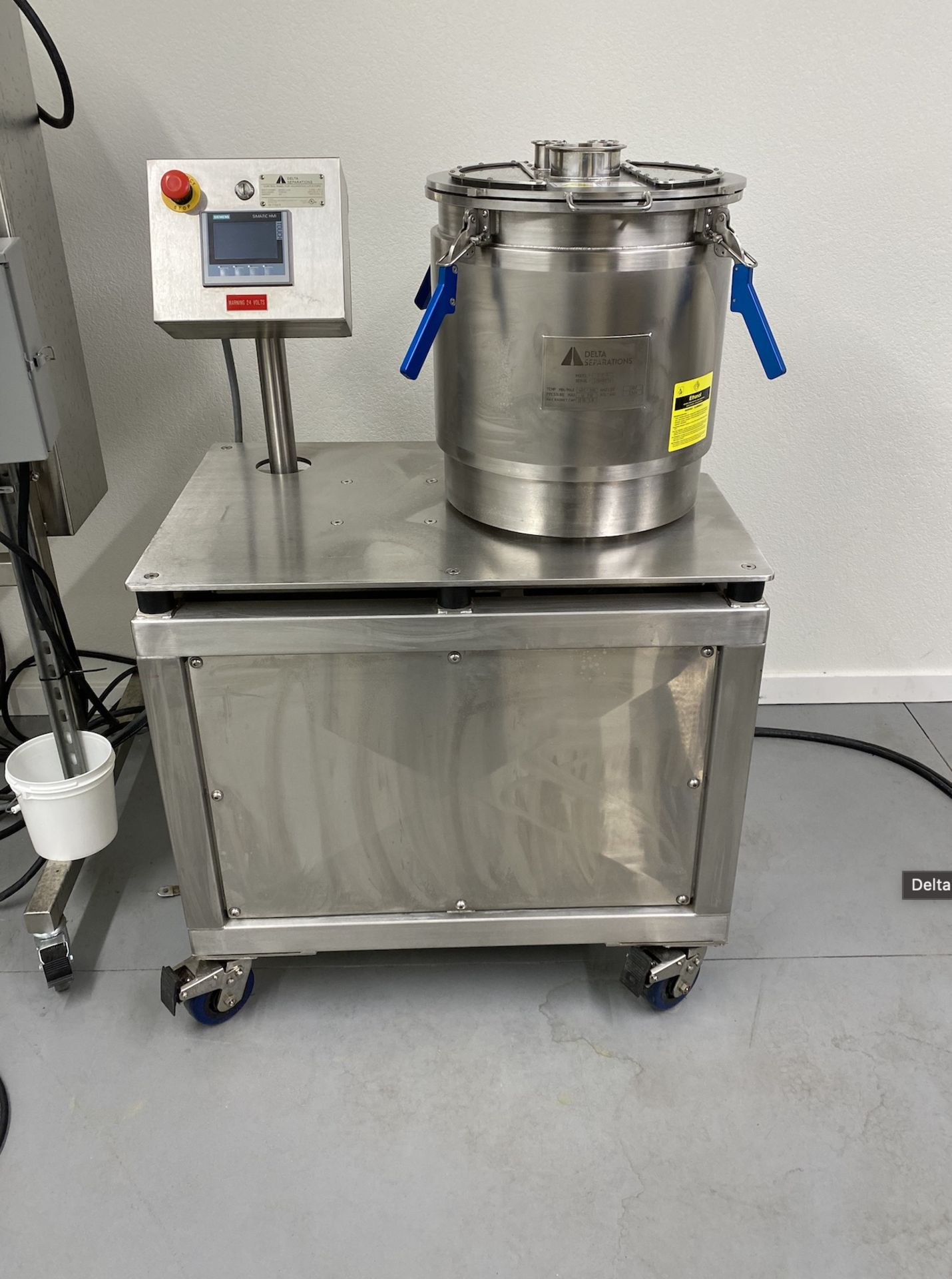 Used- Delta Separations CUP-15 Ethanol Alcohol Extraction System, Capacity: 8-14 lbs per Batch