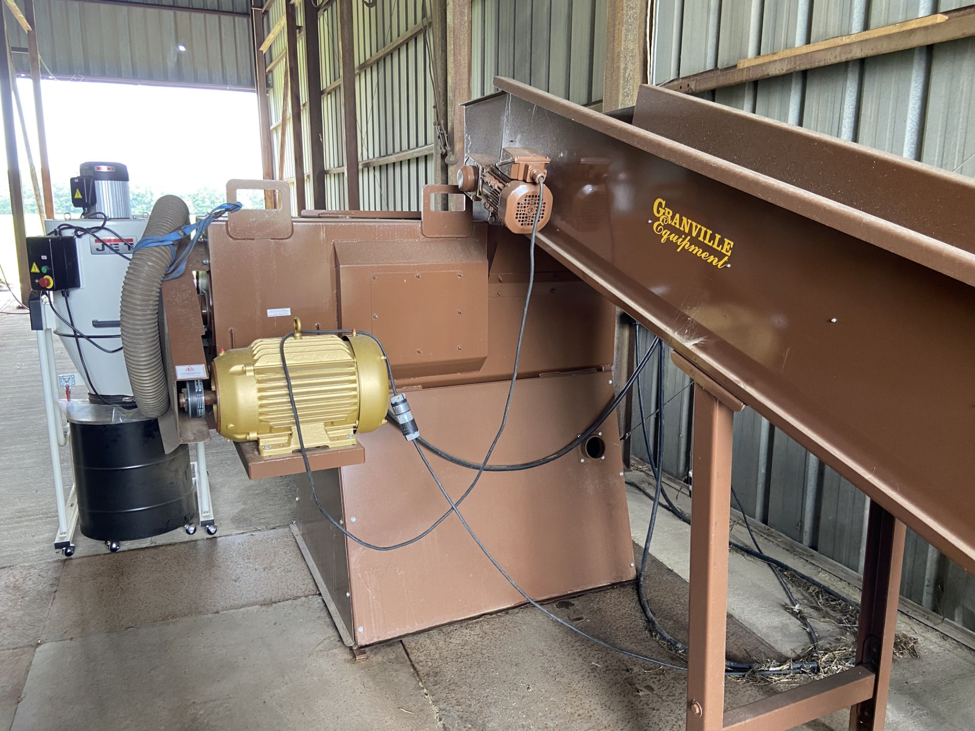 Used Granville Hemp Flower Extractor Includes: Hemp Flower Extractor w/ Vacuum & Conveying System - Image 2 of 17