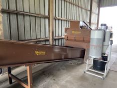 Used Granville Hemp Flower Extractor Includes: Hemp Flower Extractor w/ Vacuum & Conveying System