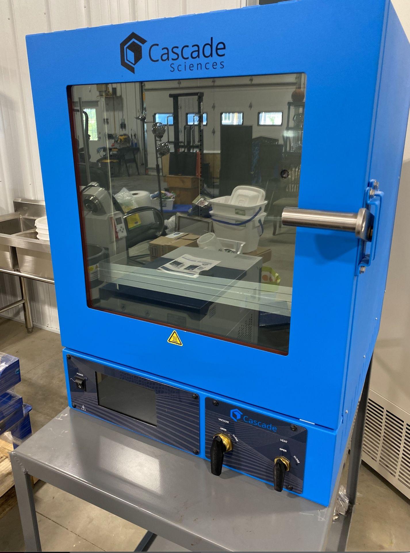 Used Cascade Sciences Standard Package Vacuum Oven. Model CVO-5 w/ Welch Vacuum Pump (2052C-02)