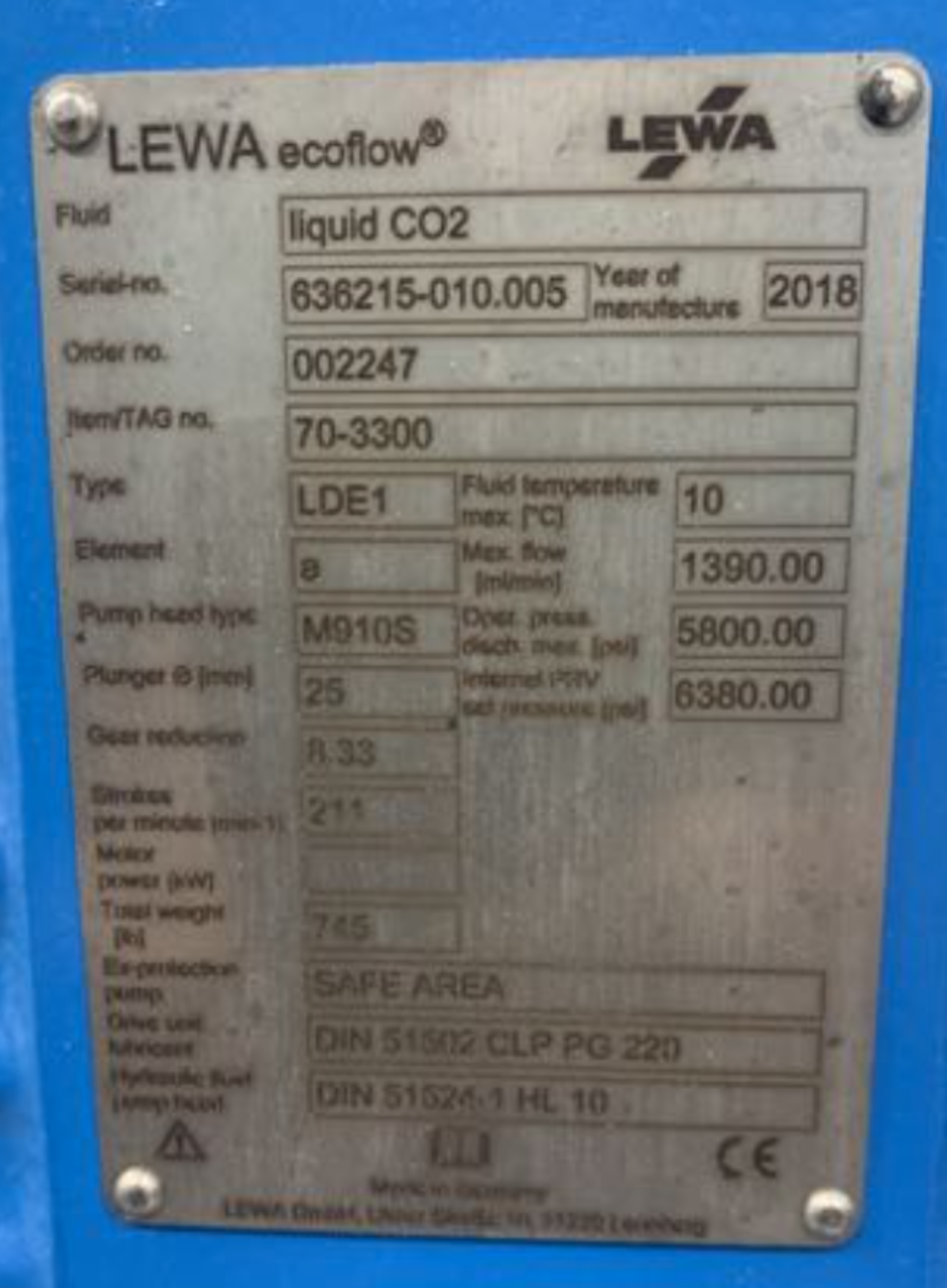 Used- ExtraktLAB Supercritical CO2 Extraction System with PolyScience Chiller Included. Model E-140 - Image 6 of 9