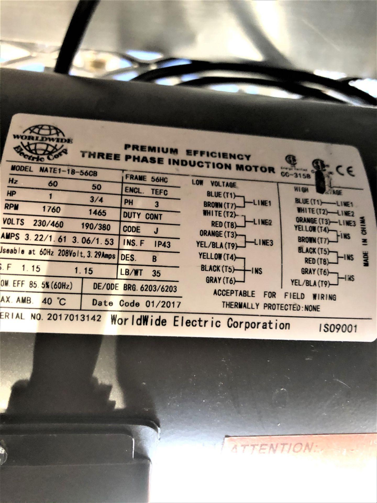 Used- Tumble Dryer w/ Molecular Sieve Column & 55 Gallon Collection Drum. Volume: 18 CuFt. - Image 10 of 11