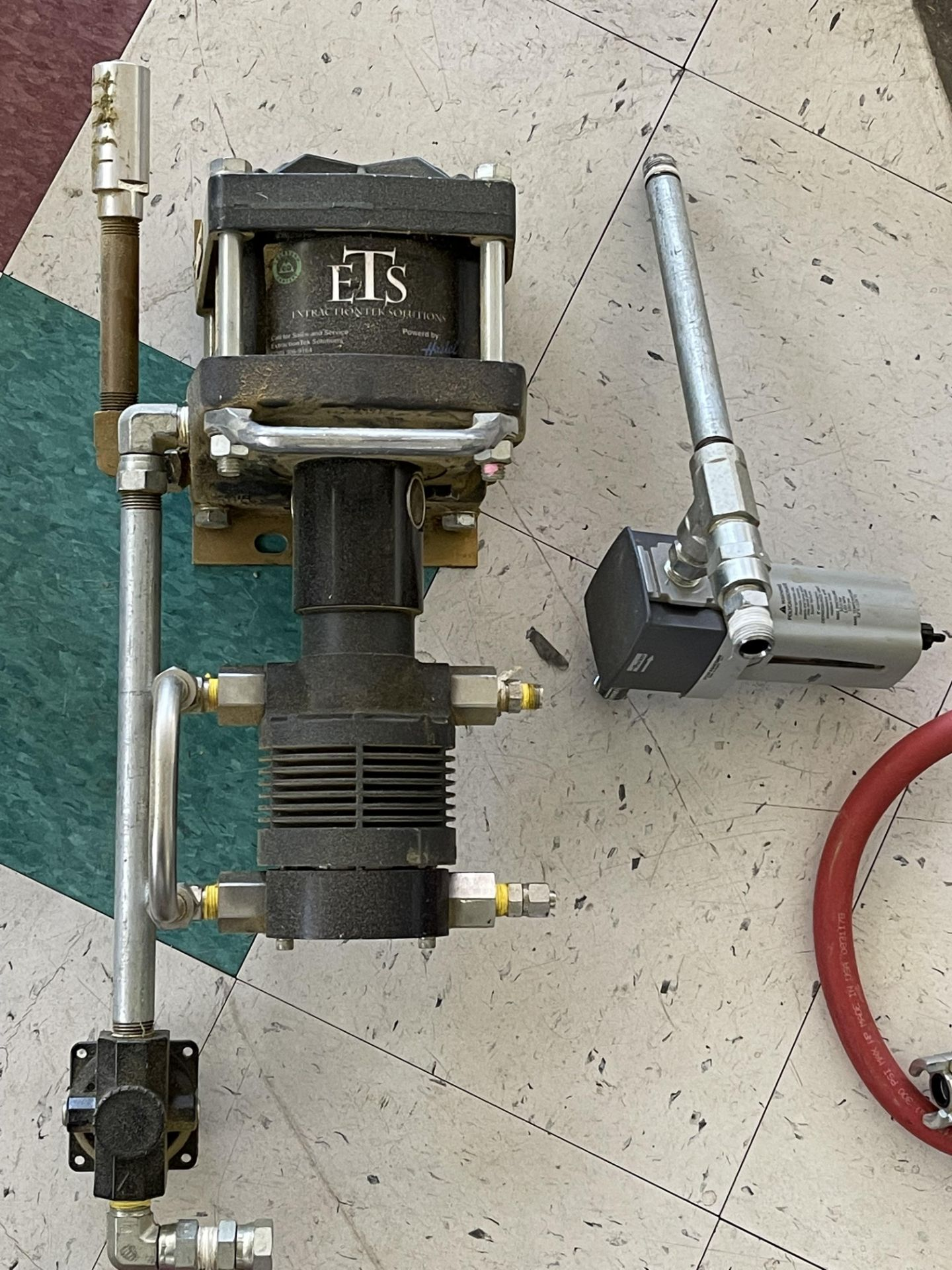 Used-Lot of (2) Haskel EXT420 Butane/Propane Extraction High Pressure Positive Displacement Pumps - Image 3 of 6