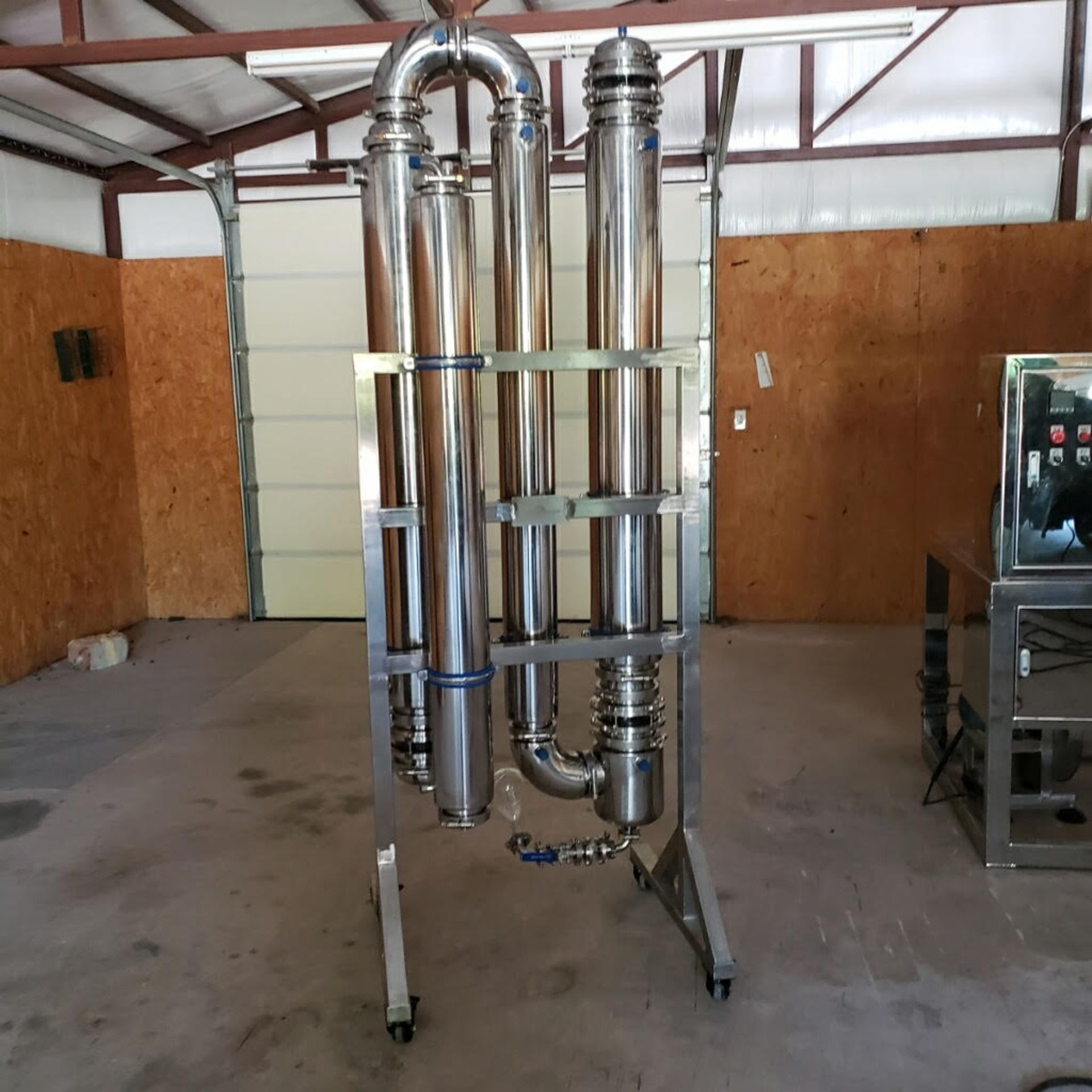 UNUSED/TESTED ONLY- K Trading Co. Ethanol Distillation & Recovery System. Model LPG5. 35-45 Gal/hr - Image 2 of 4