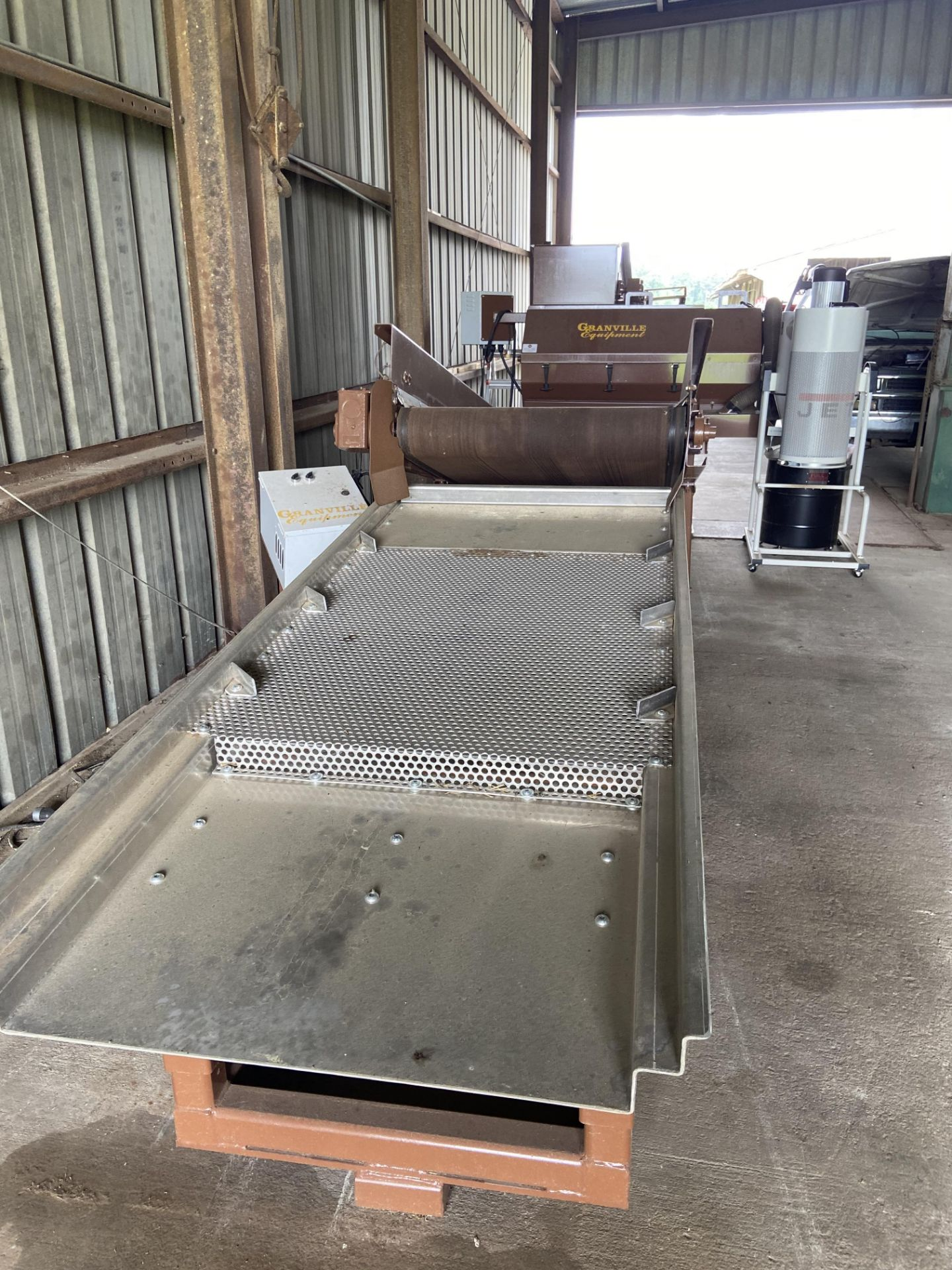 Used Granville Hemp Flower Extractor Includes: Hemp Flower Extractor w/ Vacuum & Conveying System - Image 15 of 17