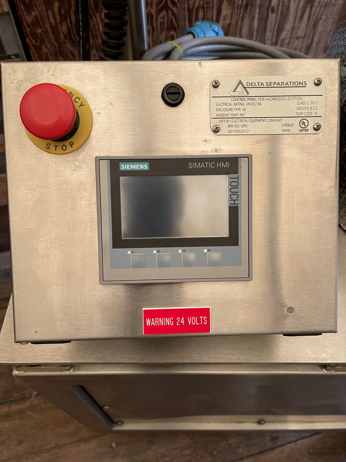 Used- Delta Separations CUP-15 Ethanol Extraction System. Capacity: 8-14 lbs/batch w/ (3) Kegs - Image 6 of 22