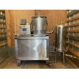 Used- Delta Separations CUP-15 Ethanol Extraction System. Capacity: 8-14 lbs/batch w/ (3) Kegs