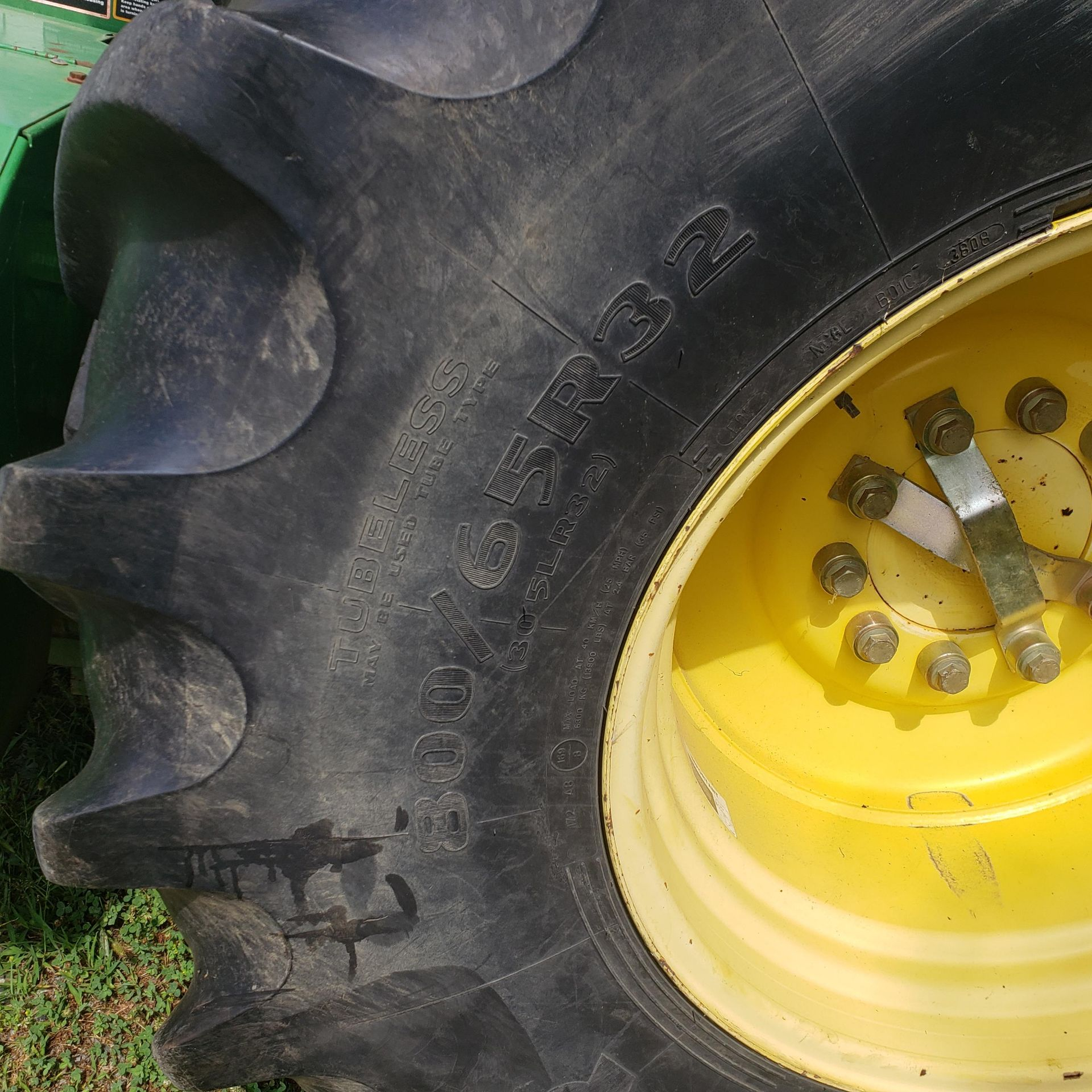 Used-John Deere 7450 Tractor. Model 7450. 1881 hrs. 688 Chopper Head - Image 8 of 10