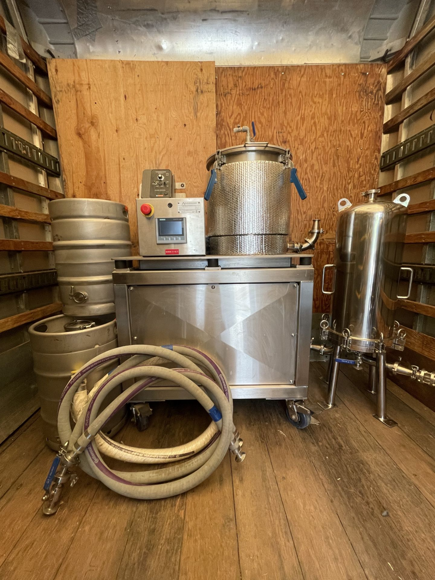 Used- Delta Separations CUP-15 Ethanol Extraction System. Capacity: 8-14 lbs/batch w/ (3) Kegs - Image 3 of 22