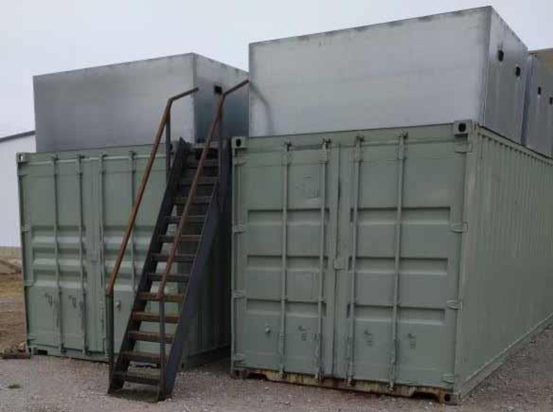 Used- Custom Made Hemp Dryer. Burners deliver 2 million BTU/hr - Image 2 of 4