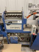 RESERVE LOWERED! Used Meyercord Blue Joint/ Preroll Stamping Machine. Model M120.