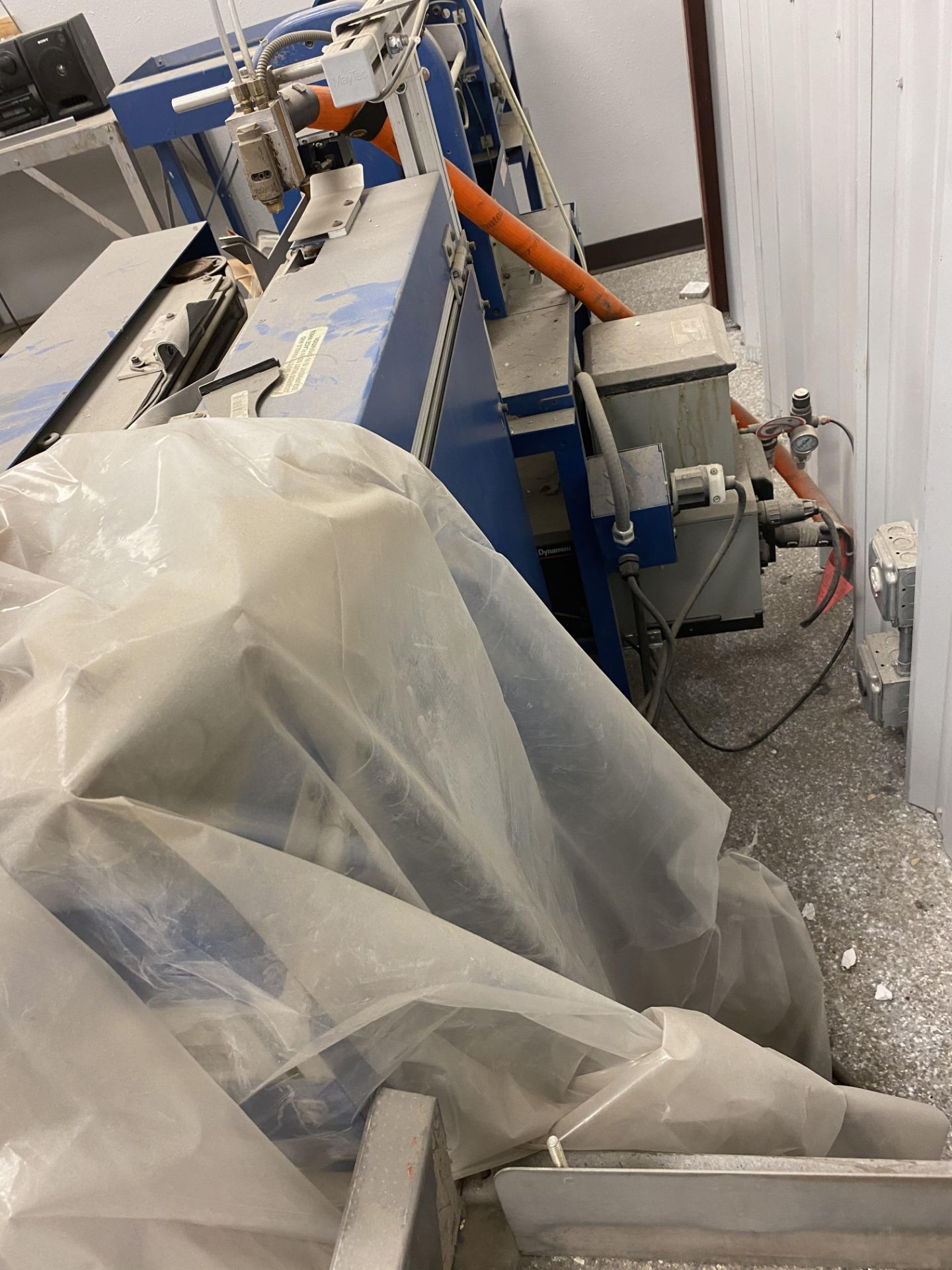 RESERVE LOWERED! Used Meyercord Blue Joint/ Preroll Stamping Machine. Model M120. - Image 3 of 4