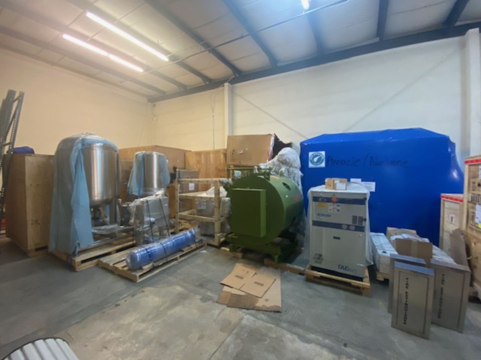 UNUSED/Still-In-Crate-Pinnacle Stainless Complete Extraction Bundle