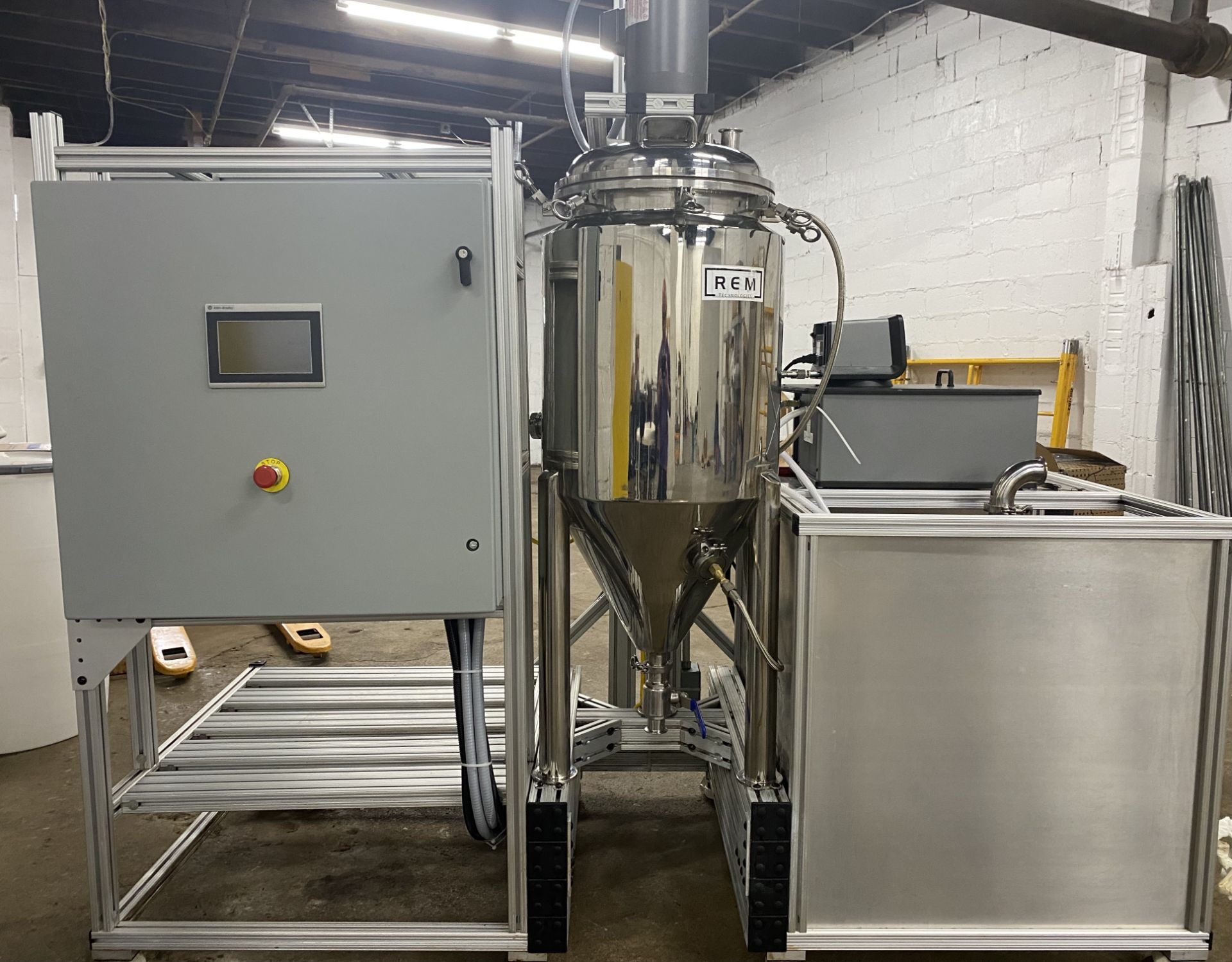 ***RESERVE LOWERED*** Used REM Technologies THC Remediation System. Model D970L. Software driven.