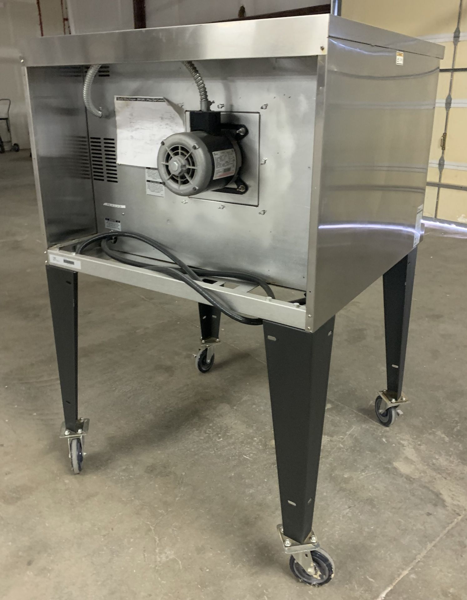 Used Bakers Pride Cyclone Series Single Deck Full Size Electric Decarb Oven. Model BCO-E1w/ 39 trays - Image 4 of 8