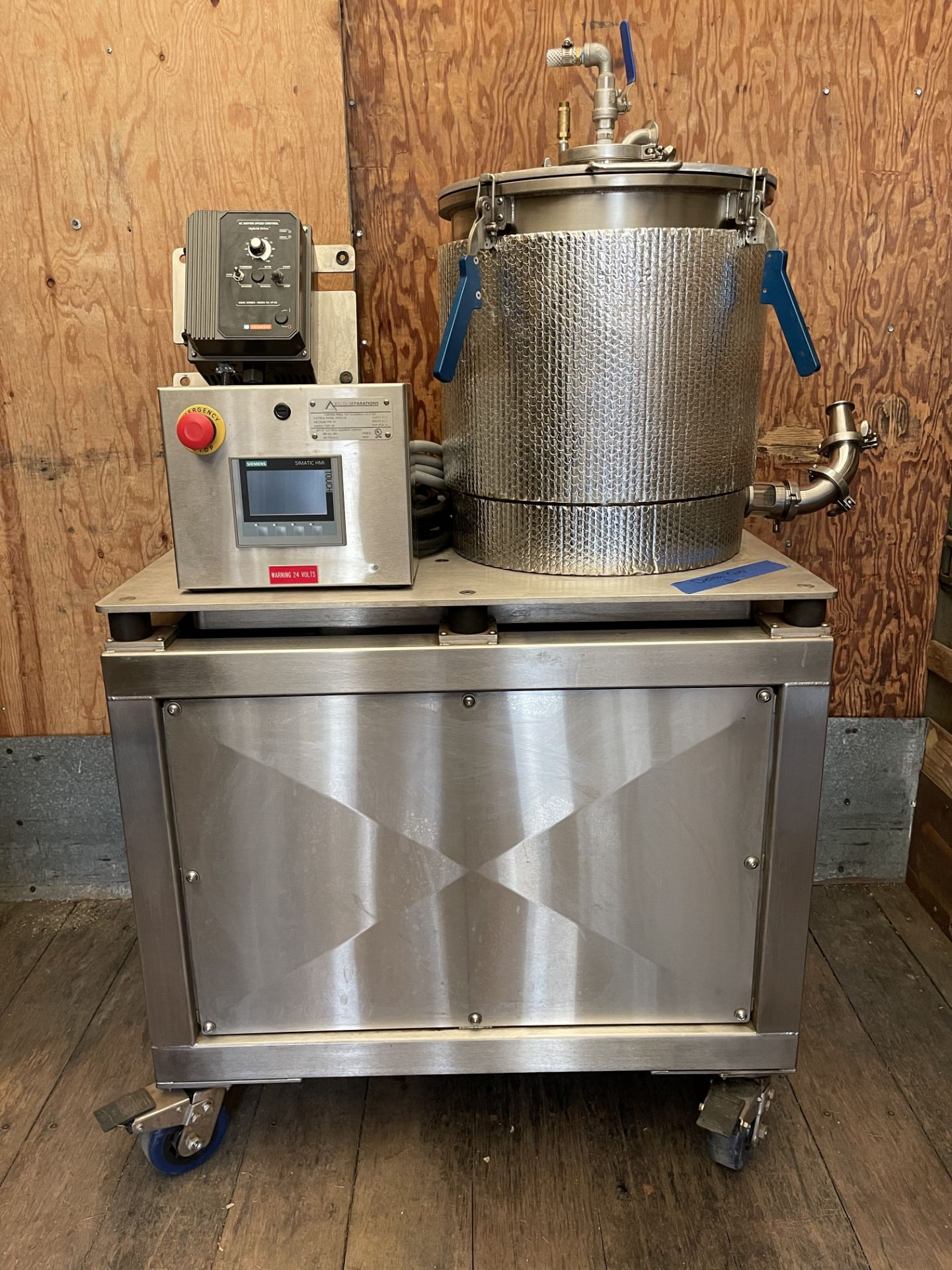 Used- Delta Separations CUP-15 Ethanol Extraction System. Capacity: 8-14 lbs/batch w/ (3) Kegs - Image 2 of 22